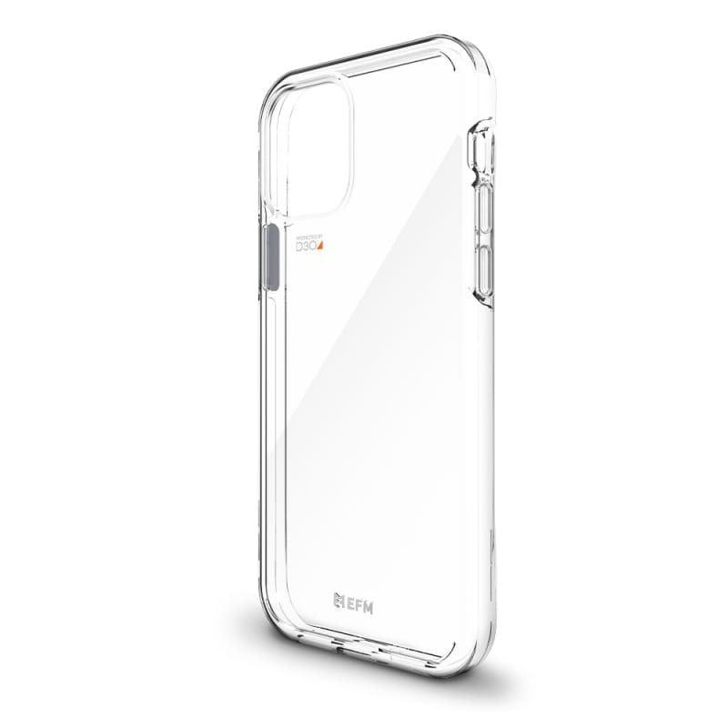 EFM Aspen Case Armour with D3O Crystalex For iPhone 12/12 Pro - Clear