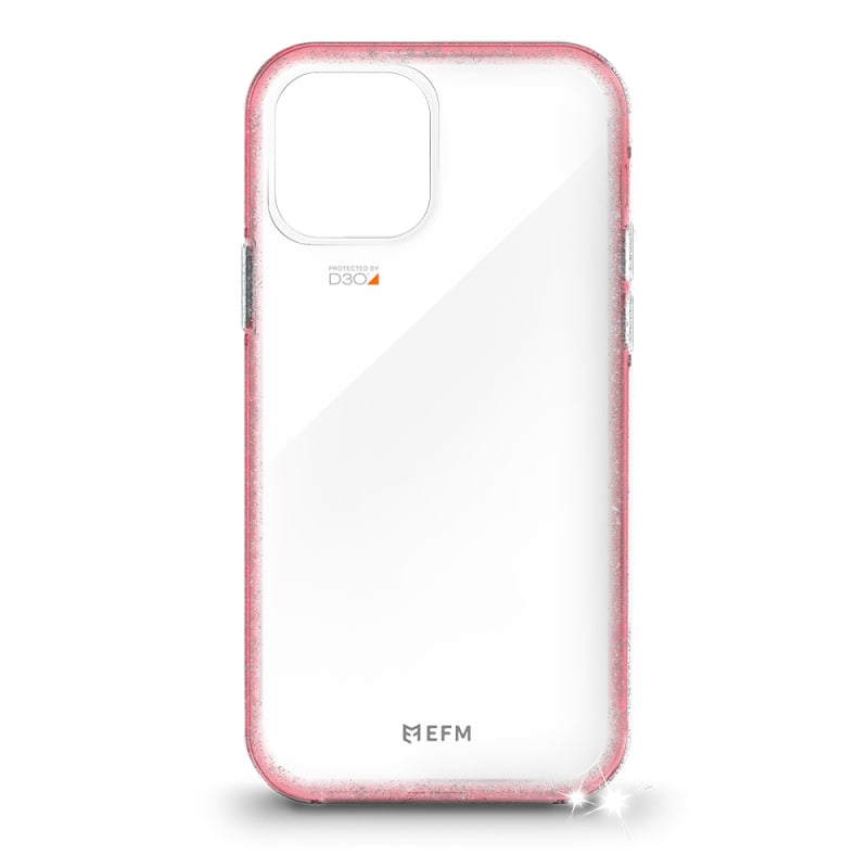 EFM Aspen Case Armour with D3O Crystalex For iPhone 1212 Pro - Glitter Coral