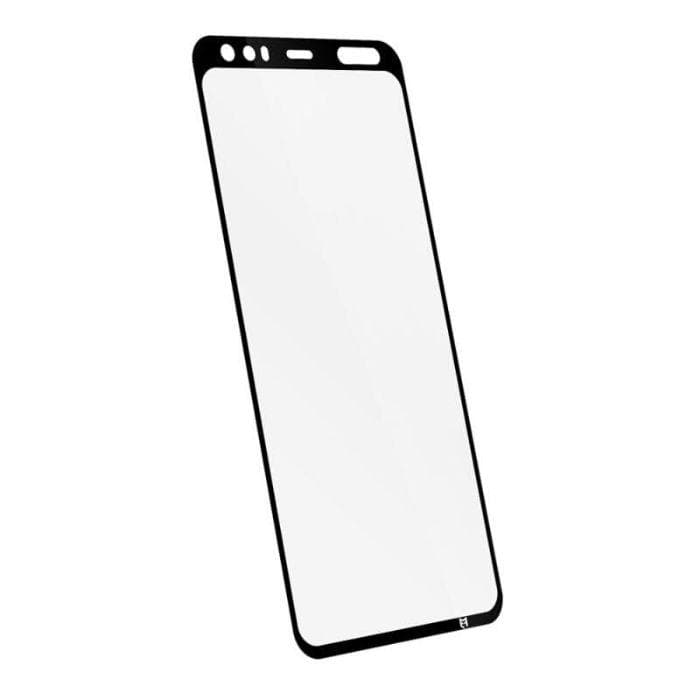 EFM Impact Flex Screen Armour For Google Pixel 4 - Clear / Black Frame