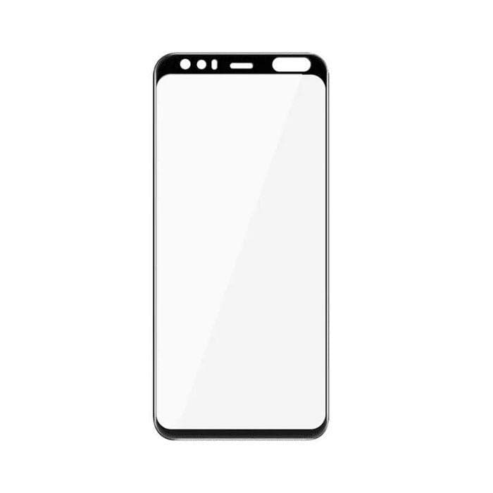 EFM Impact Flex Screen Armour For Google Pixel 4 - Clear / Black Frame protector