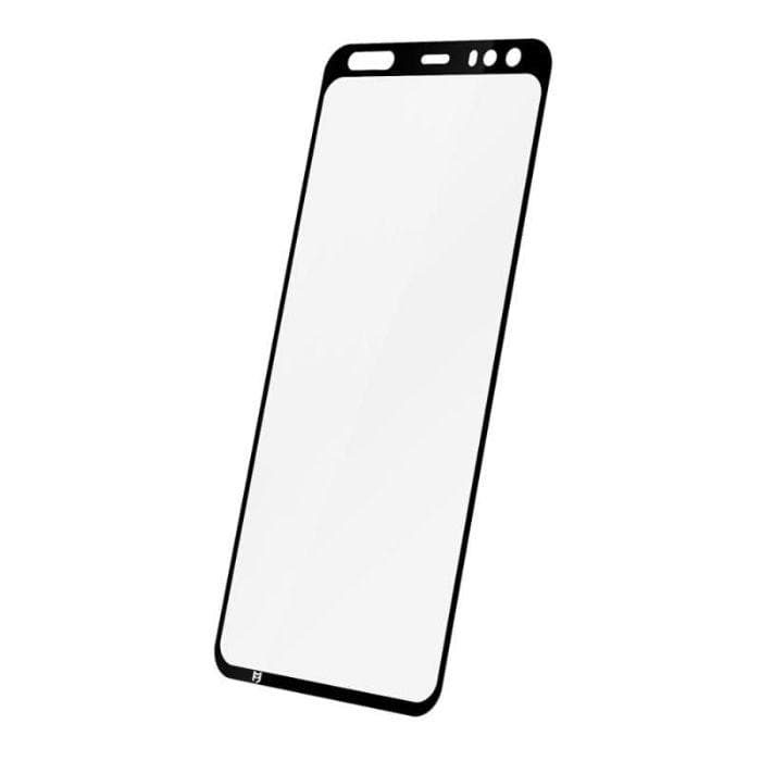 EFM Impact Flex Screen Armour For Google Pixel 4 - Clear / Black Frame smartphone