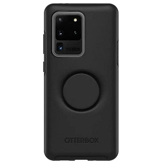 Otterbox Otter + Pop Symmetry Case for Galaxy S20 Ultra (6.9) - Black