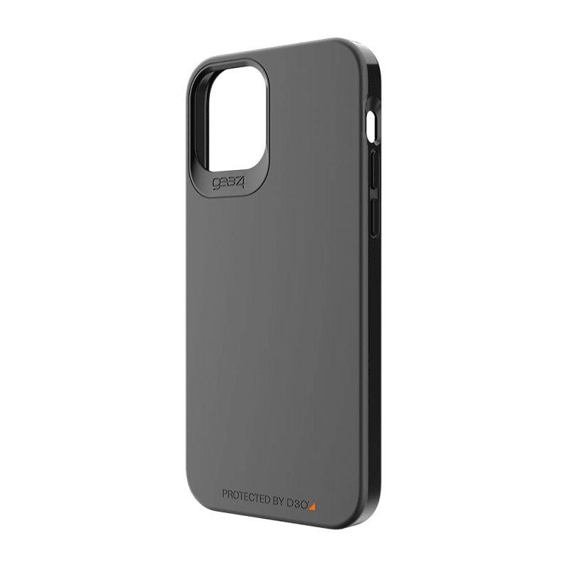 Gear4 D3O Holborn Slim Case For iPhone 12 Pro Max - Black Apple