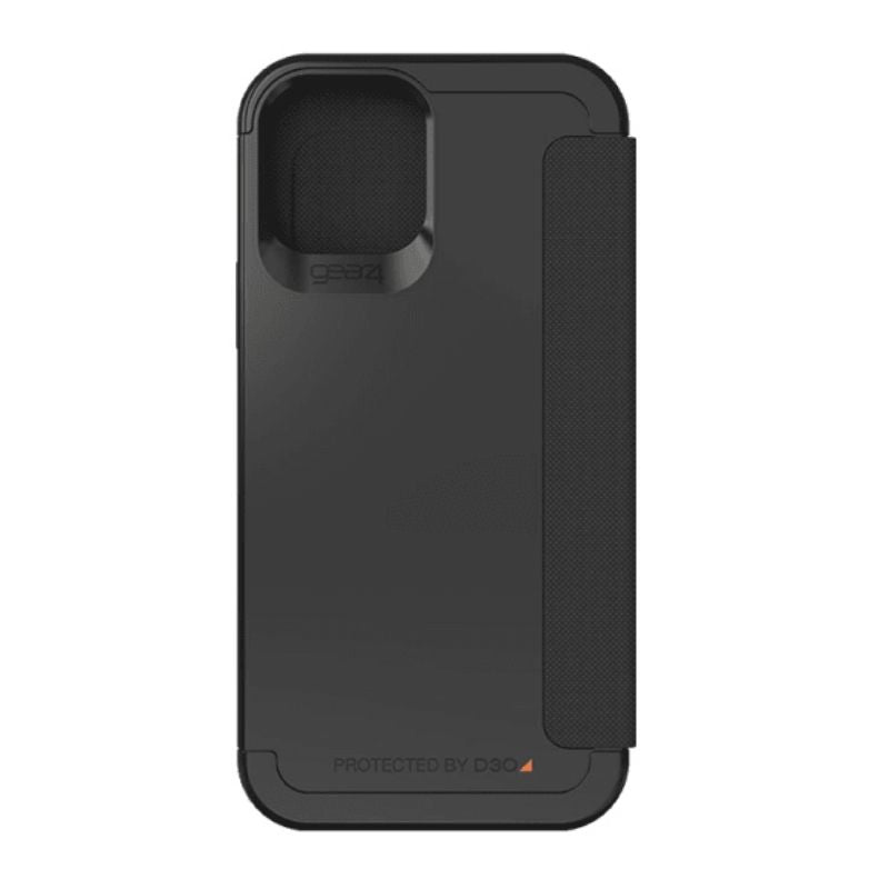 Gear4 D3O Wembley Flip Case For iPhone 12/12 Pro - Black
