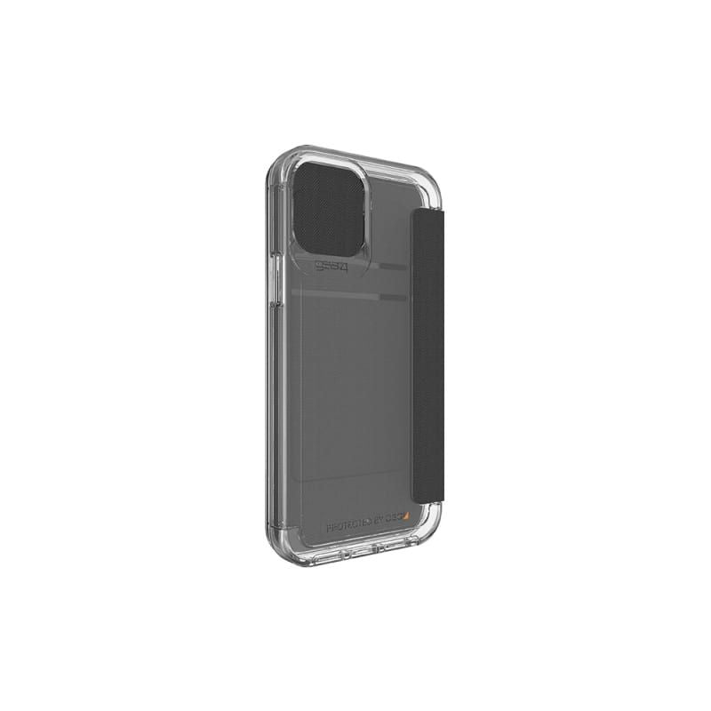 Gear4 D3O Wembley Flip Case For iPhone 12/12 Pro - Clear front