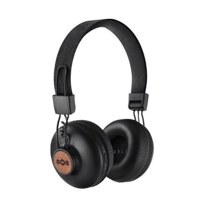 House of Marley Positive Vibration Bluetooth Headphones - BlackTan