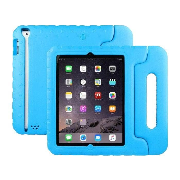 Kids Protective Case for Apple iPad 2/3/4 blue front