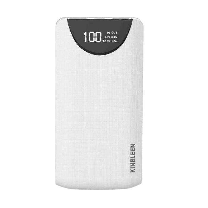 Kingleen 338S Business Power Bank - White