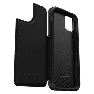 LifeProof Wallet Case For iPhone 11 Pro Max - Dark Night open