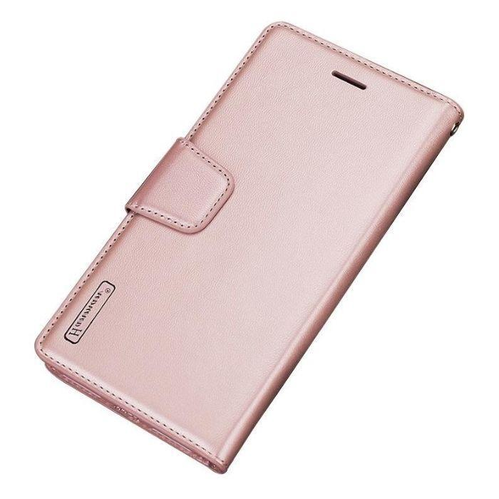Luxury A5 2020 Wallet Case- Rose Gold Oppo