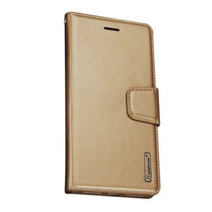Luxury A91 Wallet Case-Gold