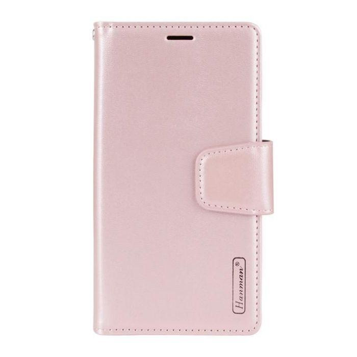 Luxury A9 2020 Wallet Case-Rose Gold