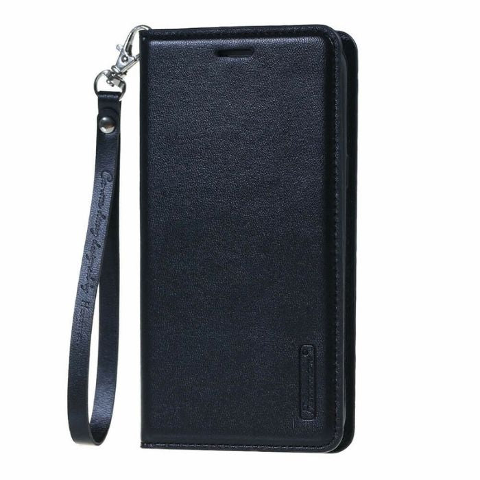 Luxury Nokia 7.1 Wallet Case-Black