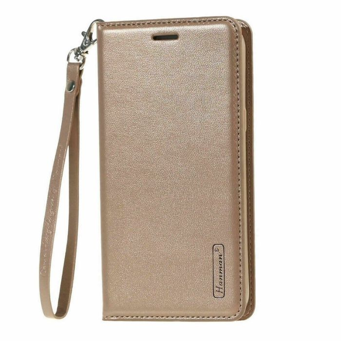 Luxury Nokia 7.1 Wallet Case-Gold