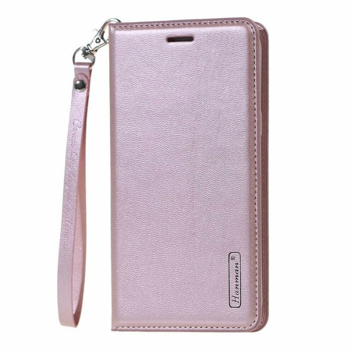 Luxury Nokia 7.1 Wallet Case-Rose Gold