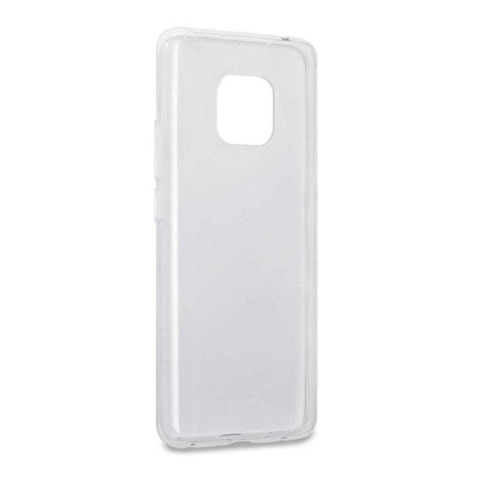 Matte Jelly Case for Mate 20 - Clear