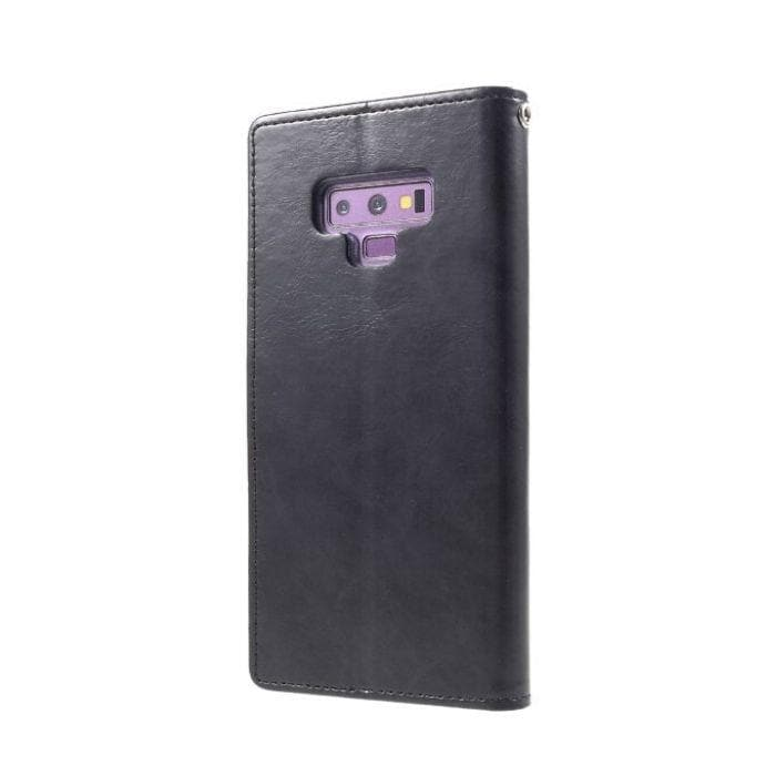 Mercury Blue Moon Diary Case for Galaxy Note 9 - Black Samsung