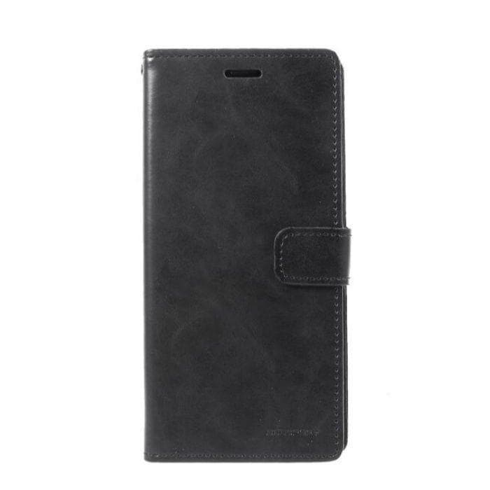 Mercury Blue Moon Diary Case for Galaxy Note 9 - Black
