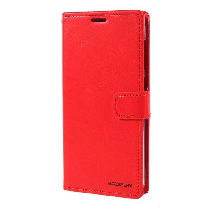 Mercury Blue Moon Diary Case for Galaxy Note 9 - Red