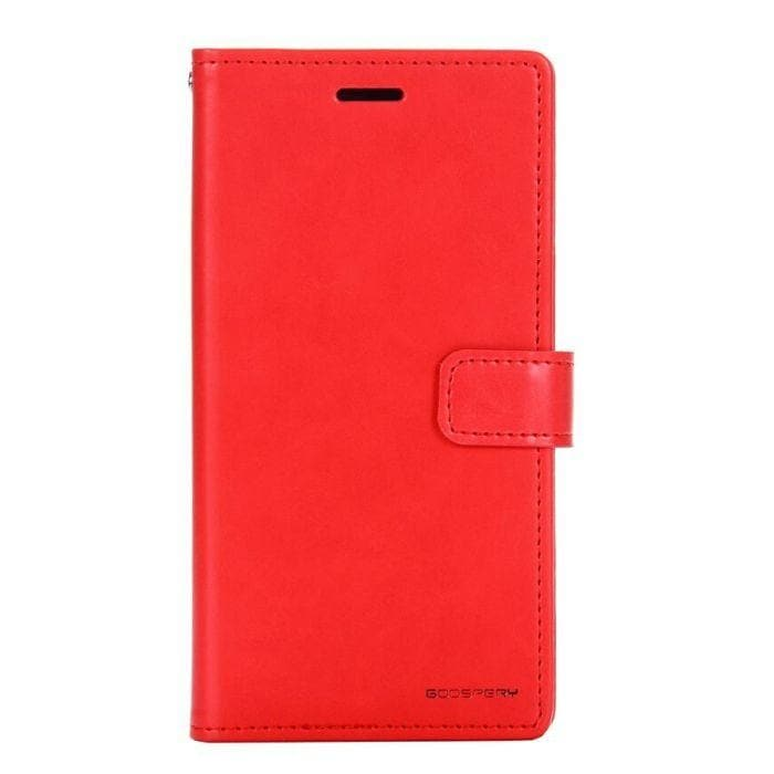 Mercury Blue Moon Diary Samsung Galaxy S9 Plus - Red front