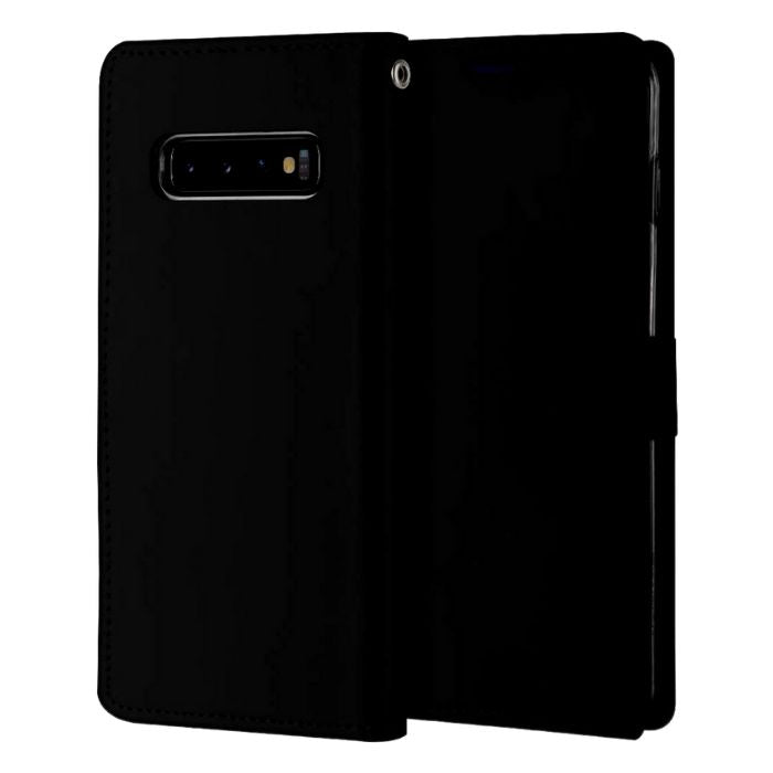 Mercury Blue Moon Diary Case for Samsung Galaxy S10 - Black