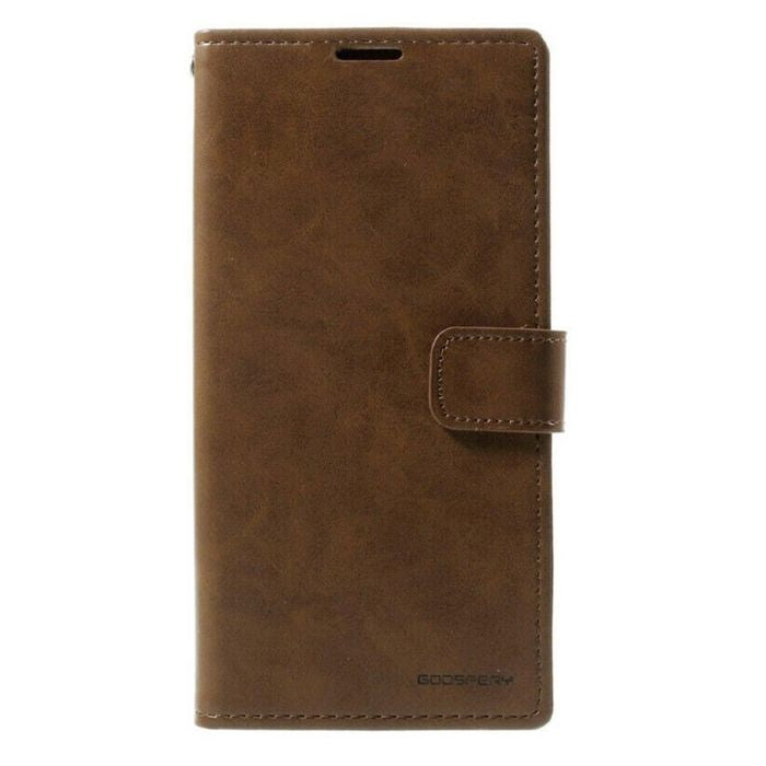 Mercury Blue Moon Diary Case for Samsung Galaxy S20 - Brown