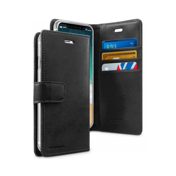 Mercury Blue Moon Diary Case for iPhone 11 Pro Max - Black