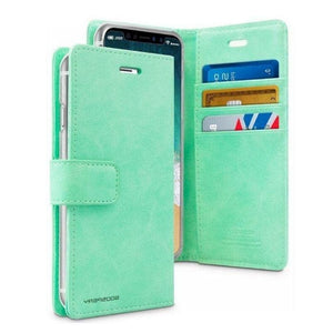 Mercury Blue Moon Diary Case for iPhone 11 Pro Max - Mint