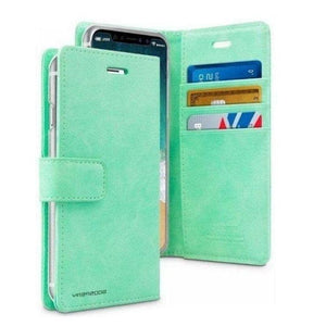 Mercury Blue Moon Diary Case for iPhone 12 Pro Max - Mint