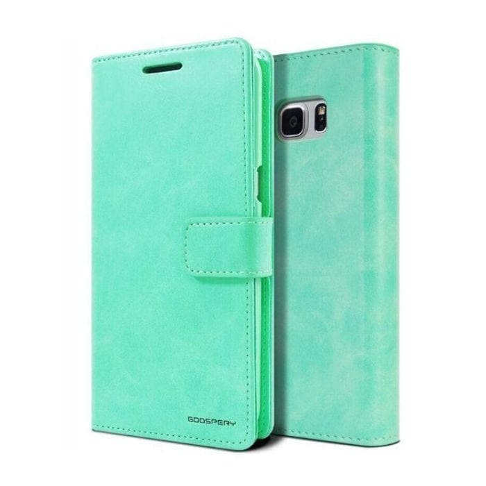Mercury Blue Moon Diary Samsung Galaxy S8 Plus Case - Mint