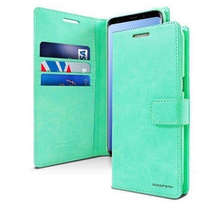 Mercury Blue Moon Diary Samsung Galaxy S9 - Mint