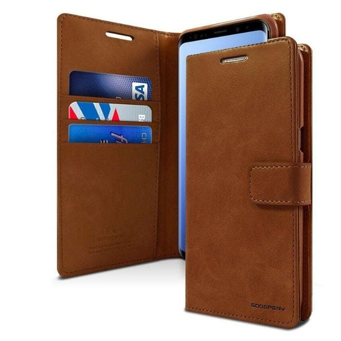 Mercury Blue Moon Diary Samsung Galaxy S9 Plus - Brown