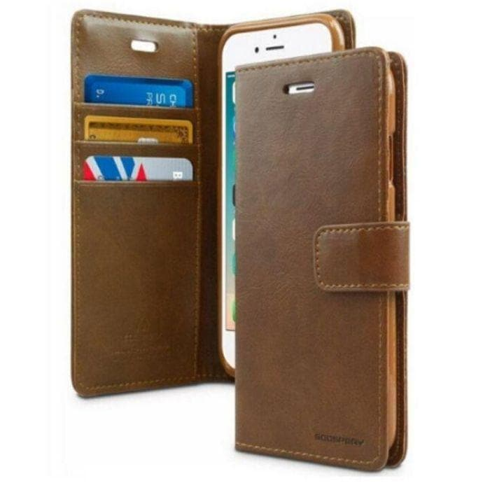 Mercury Blue Moon Diary iPhone 7/8/SE 2020 Case - Brown
