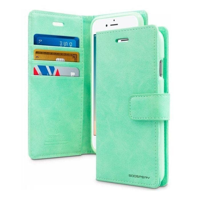 Mercury Blue Moon Diary iPhone 66s Plus Case - Mint