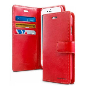 Mercury Blue Moon Diary iPhone 78SE 2020 Case - Red
