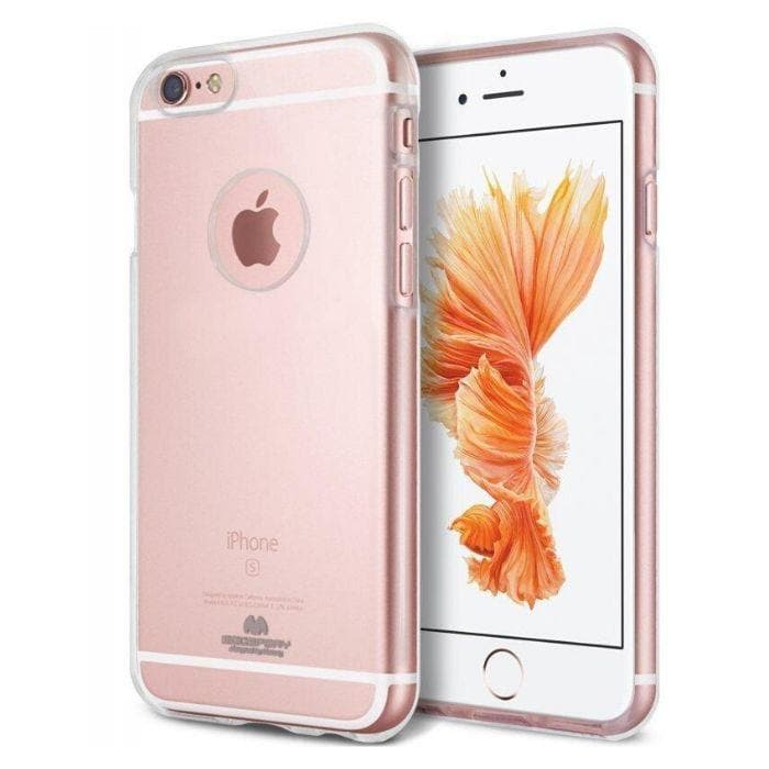 Mercury Clear Jelly Case for iPhone 66s Plus
