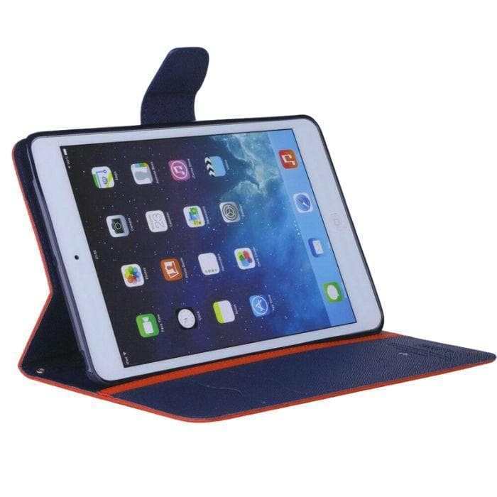 Mercury Fancy Diary Case for iPad 234 - Red folded