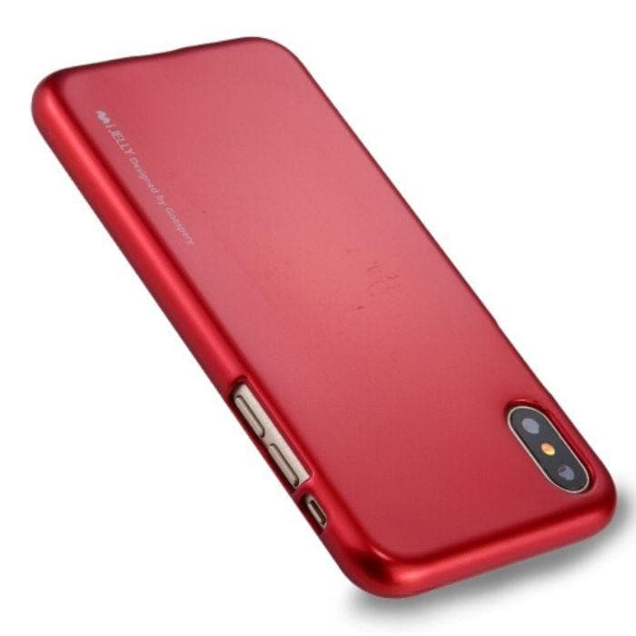 Mercury iJelly Metal Case for iPhone XS Max - Red