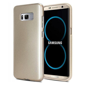 Mercury Jelly Case for Samsung Galaxy S8 Plus - Metal Gold
