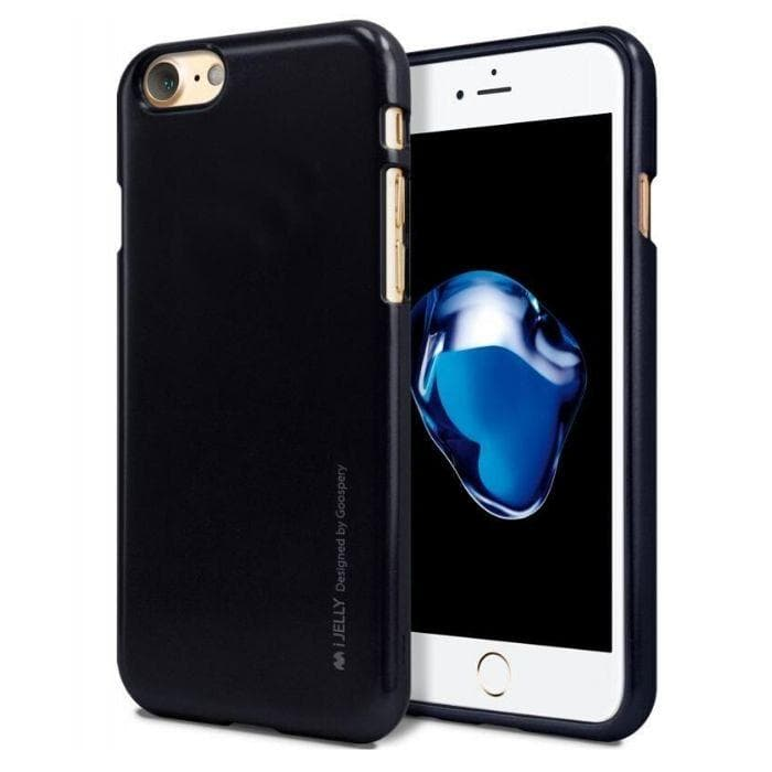 Mercury Jelly Case for iPhone 66s Plus - Metal Dark Navy Apple