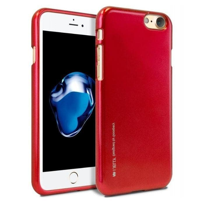 Mercury Jelly Case for iPhone 66s Plus - Metal Red