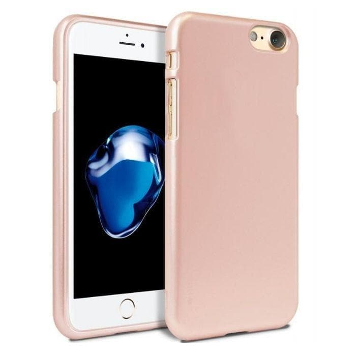 Mercury Jelly Case for iPhone 6/6s Plus - Metal Rose Gold