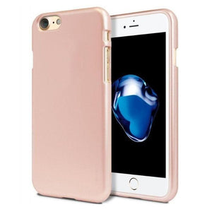 Mercury Jelly Case for iPhone 6/6s Plus - Metal Rose Gold Apple