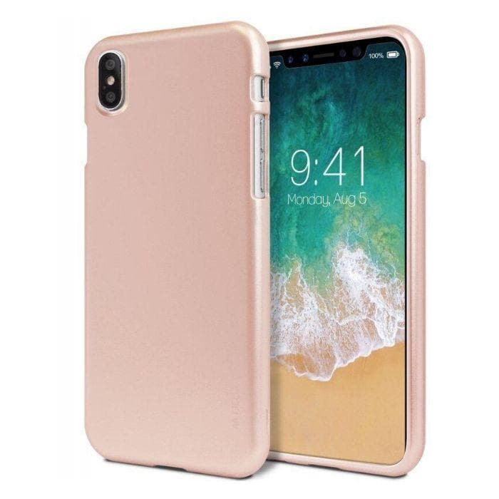 Mercury iJelly Metal Case for iPhone XS Max - rose gold