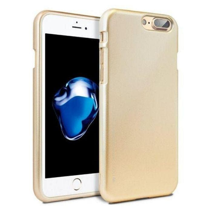Mercury Jelly Case for iPhone 78 Plus - Metal Rose Gold