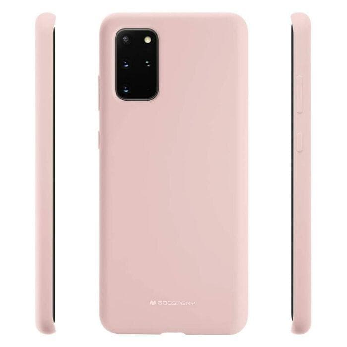 Mercury Silicon Case for Samsung Galaxy S20 Plus - Pink Sand back