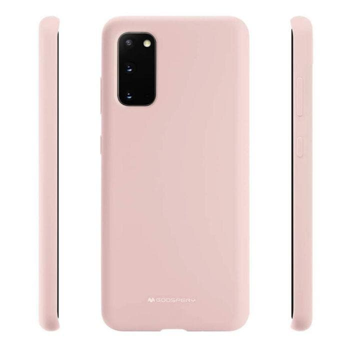 Mercury Silicon Case for Samsung Galaxy S20 - Pink Sand