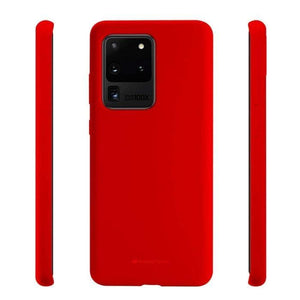 Mercury Silicon Case for Samsung Galaxy S20 Ultra - Red