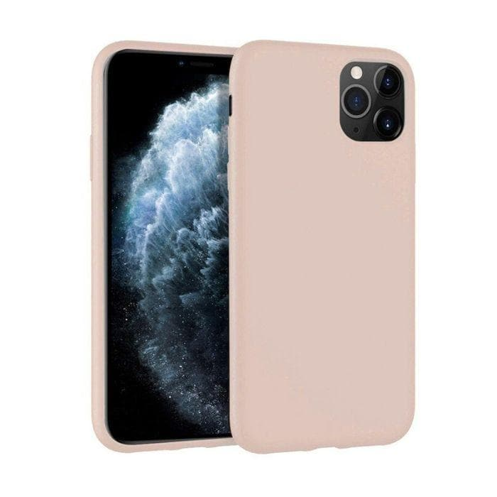 Mercury Silicone Case for iPhone 11 Pro - Pink Sand Apple