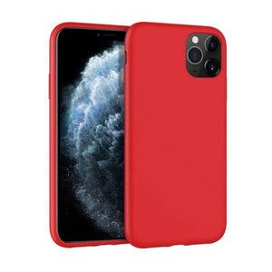 Mercury Silicone Case for iPhone 11 Pro - Red Apple